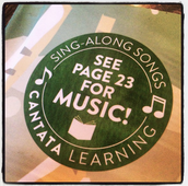 Find All Of The Cantata Learning Songs Here!