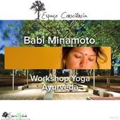 Babi Minamoto Personal Coach Yoga-Ayurveda