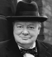 """A Description of the Life of the Man that said,"""" Never Give In"""" - Winston Churchill"""