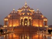 Akshardham Temple en Inde