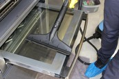 The processes that are applied during an Oven Cleaning service