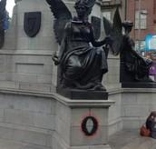Statue in Dublin, Ireland