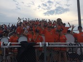 Band Section Rockin' the House