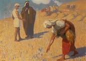 רות בשדה בועז