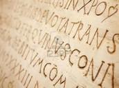 Disce linguam latinam, Aprenda la lengua Latina.
