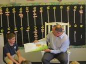 Mystery Reader: Thank you to.....