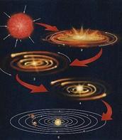 The process of A solar Nebula