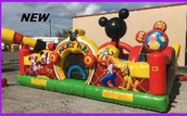 Mickey's Playground Bounce House