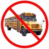 No more school bus