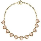 SOLD Somervell Necklace - Gold / Peach