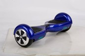 our beginner hoveboard is blue