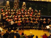 ESSD Elementary Honor Choir singing at Crown Center