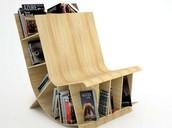 Silla librería
