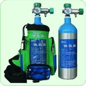 Aluminium Oxygen Tanks