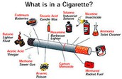 There are more than 4,000 dangerous chemicals found in 1 cigarettes.