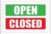 Blackboard Open/Close Courses