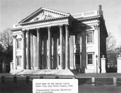 What was the role of the First Bank of the United States created in 1791?