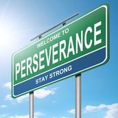Perseverance Is Key...