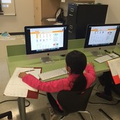Using a online thesaurus to develop vocabulary.