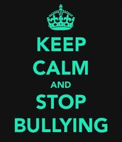 we need to stop bullying