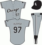 White Sox Away Uniform