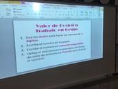 Math Activity in Spanish