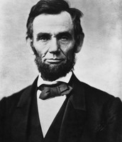 Aberaham Lincoln- 16th president.