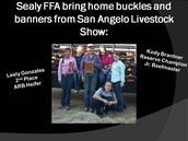 San Angelo Livestock Results