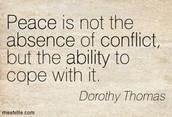 Faces a Conflict