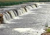 "The widest waterfall in Europe is in Latvia! ""Ventas Rumba"" (360ft)"
