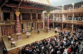 Inside of Globe Theater
