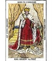 King Andrew cartoon