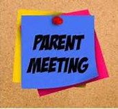 Did you miss our Parent Meeting September 7th?