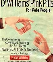 Dr Williams' Pink Pills 1886