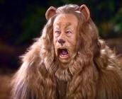 El león cobarde
