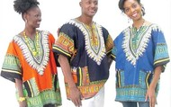Traditional Print Dashiki-$13.80