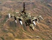 Camouflaged Aeroplane