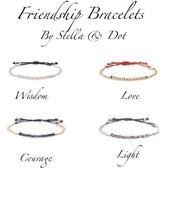 Friendship bracelets - lovely delicates!