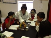 Scientist at Work at Kiest Elem