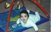 When I was around 10 months old