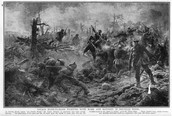 Soldiers Fighting in The Battle of Amiens