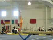 I am a gymnast at heart.