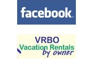 We are on Facebook & VRBO!