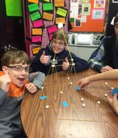 Challenge Friday - Spaghetti Towers