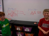 Mathematicians at work!