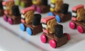 Why should you make tiny teddy trains????
