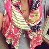 Union scarf - Geo Ikat