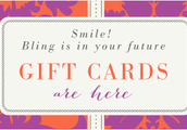 Gift cards are here, why not send one by purchasing an E-Gift card starting at $25 up.
