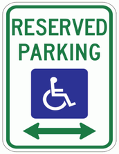 Handicapped Parking Spots