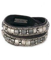 SOLD!!!!!!!Cady wrap, Black Leather-- HUGELY POPULAR!! was $64, now $30!